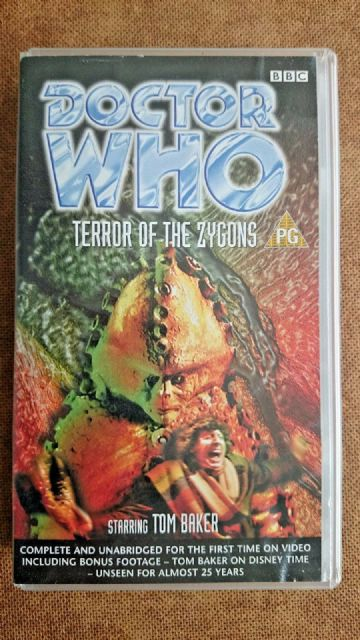 Doctor Who - Terror Of The Zygons (VHS, 1999) - Tom Baker
